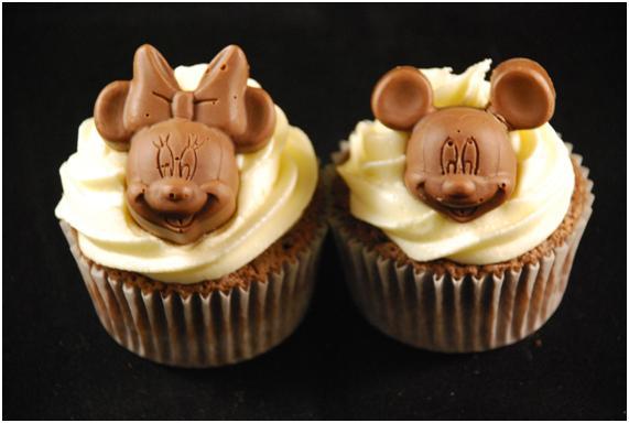 Cupcakes Decorados Con Mickey Imagui