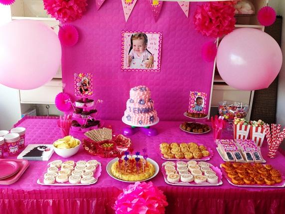 c9c3a3a45f5df El primer Cumpleaños de Emma - BakeOrDie