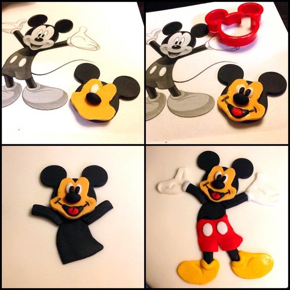 Tarta Fondant Mickey Mouse | BakeOrDie