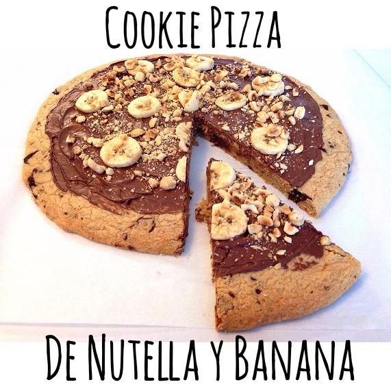 cookiepizza nutella