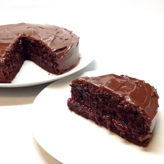 tarta chocolate vegana