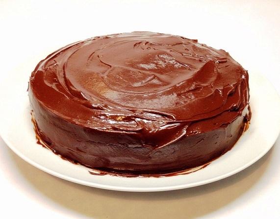 tarta chocolate frambuesa vegana