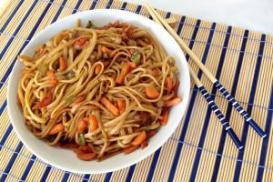 receta tallarines chinos