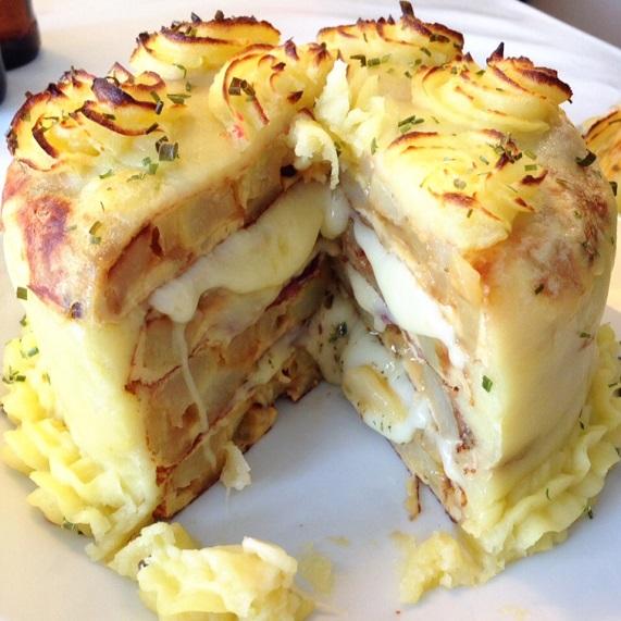 pastel de tortillas