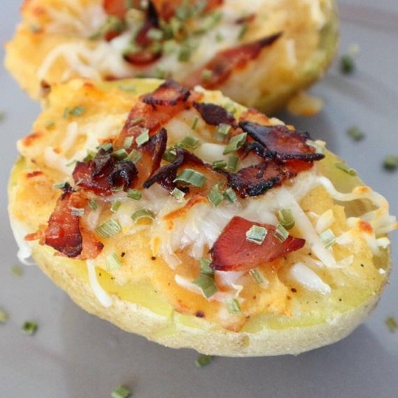 patatas rellenas bacon queso