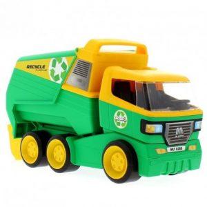 camion-de-la-basura-verde