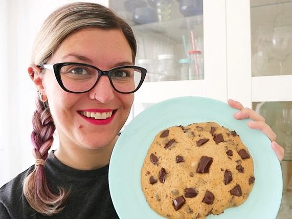 cookies en 2 minutos tasty